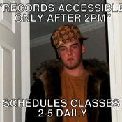 Records accessible only after 2pm schedules classes 2 5 daily 21f67c