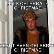 Let s celebrate christmas doesnt even celebrate christmas cf4a4a