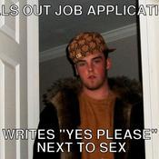 Fills out job application writes yes please next to sex bef601