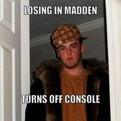 Losing in madden turns off console 84d5fd