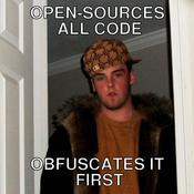 Open sources all code obfuscates it first 4b858d