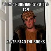 Yo im a huge harry potter fan never read the books 249310