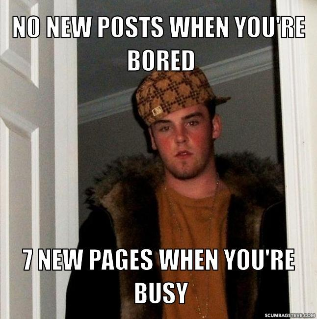 No new posts when you re bored 7 new pages when you re busy fb9abc