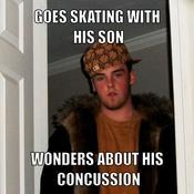 Goes skating with his son wonders about his concussion c73452