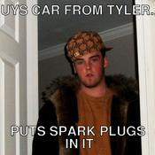 Buys car from tyler puts spark plugs in it 5158ec