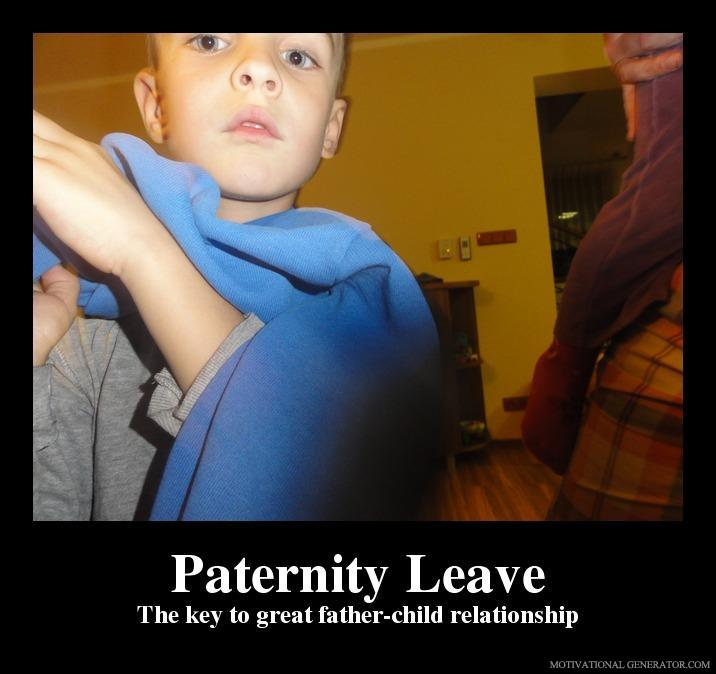 Paternity leave the key to great father child relationship ca5e47