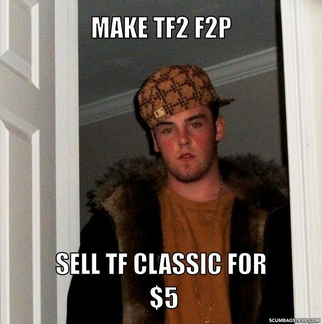 Make tf2 f2p sell tf classic for 5 32ed1f