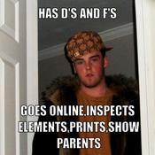 Has d s and f s goes online inspects elements prints show parents 350e35