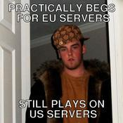 Practically begs for eu servers still plays on us servers a003dd