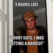 3 hours late sorry guys i was getting a haircut 610e52