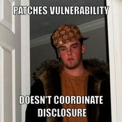 Patches vulnerability doesn t coordinate disclosure 2d59e9