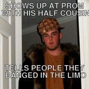 Shows up at prom with his half cousin tells people they banged in the limo f95966