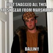 Just snagged all this fresh gear from marshalls ballin 4d3725
