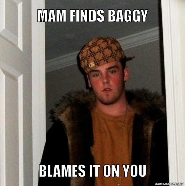 Mam finds baggy blames it on you 5e2deb