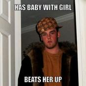 Has baby with girl beats her up 5fe543