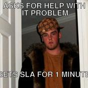 Asks for help with it problem sets sla for 1 minute e4960b