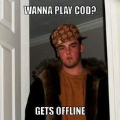 Wanna play cod gets offline 4df64c