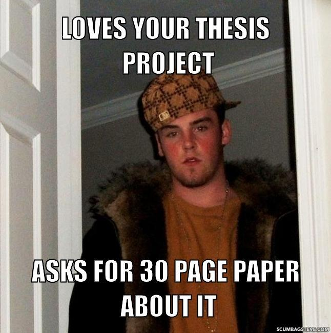 Loves your thesis project asks for 30 page paper about it 0f14a7