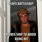 Plays battleship moves ship to avoid being hit 5ed140