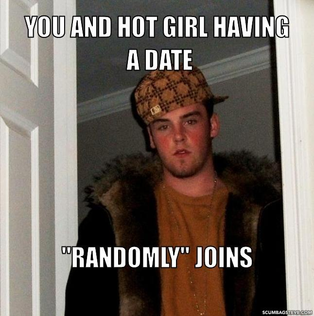You and hot girl having a date randomly joins 39faae