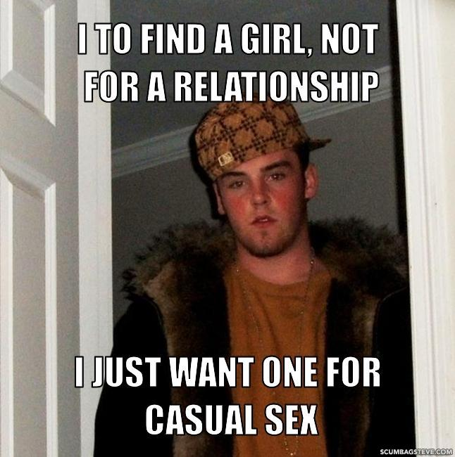 I just want casual sex