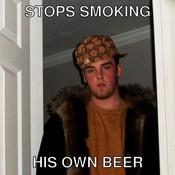 Stops smoking his own beer e36d19
