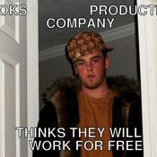 Books production company thinks they will work for free 74896c