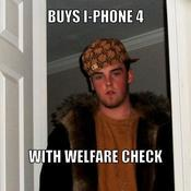 Buys i phone 4 with welfare check 3fbccb