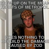 Grew up on the mean streets of metropolis does nothing to rebuild the damage caused by zod 6deb97