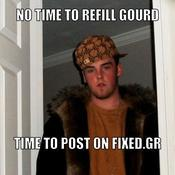 No time to refill gourd time to post on fixed gr 032018