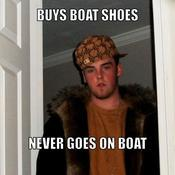Buys boat shoes never goes on boat aaf5b3