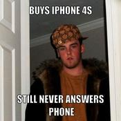 Buys iphone 4s still never answers phone 4154c2