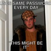 Uses same password every day this might be it cec852