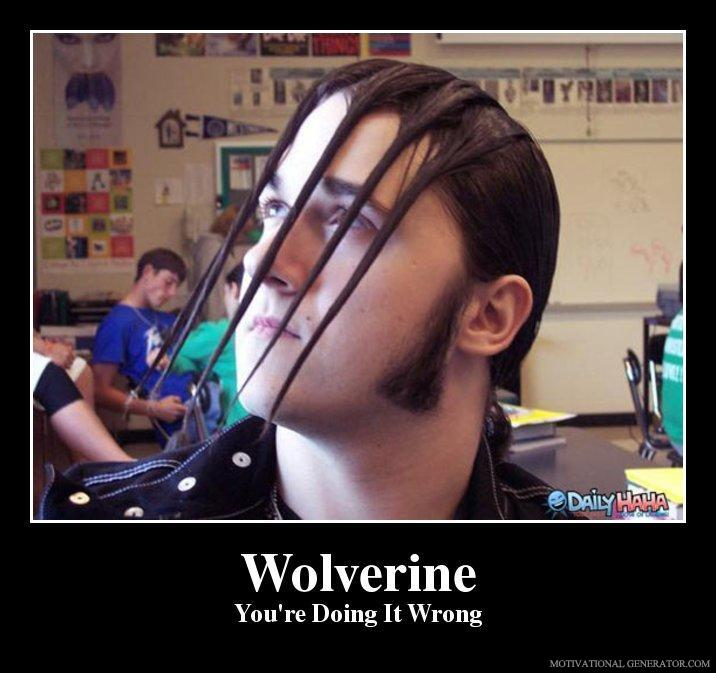 Wolverine you re doing it wrong 9595bc