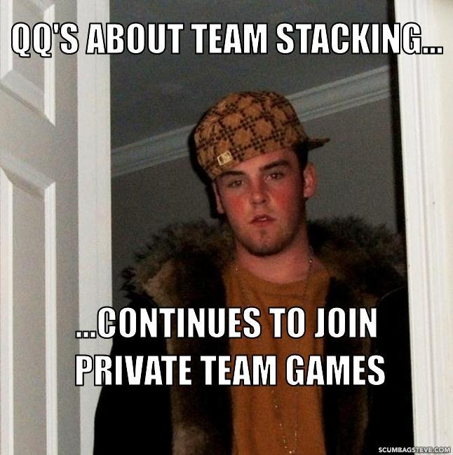 Qq s about team stacking continues to join private team games 498c3c