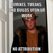 Remixes tweaks and builds upon ur work no attribution e7d209