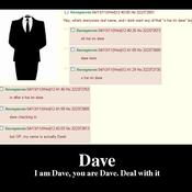 Dave i am dave you are dave deal with it 1858bb