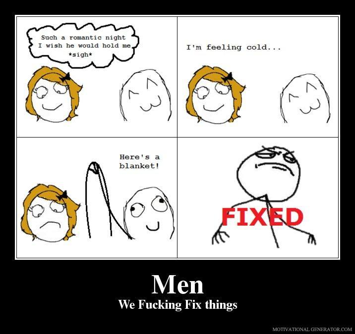 Men we fucking fix things 8a37c9