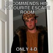 Recommends his favourite escape room only 4 d 016600