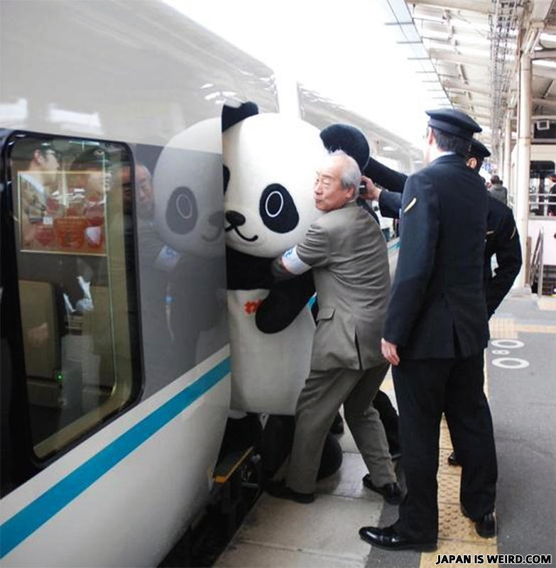 Japanese sexually harassed in train
