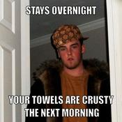 Stays overnight your towels are crusty the next morning 962d5c