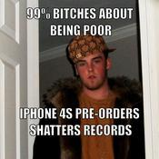99 bitches about being poor iphone 4s pre orders shatters records f1bc97