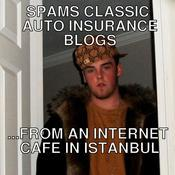 Spams classic auto insurance blogs from an internet cafe in istanbul b26eac