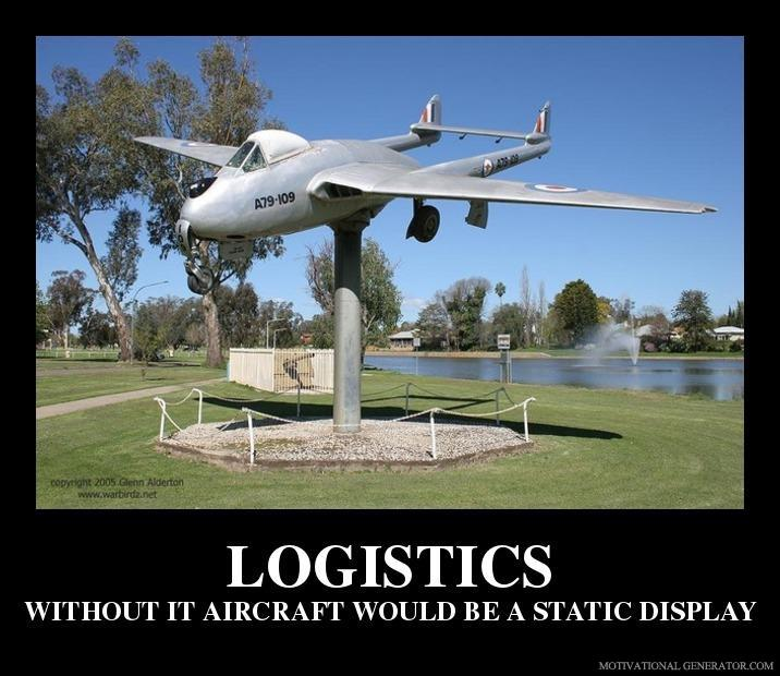 Logistics without it aircraft would be a static display 637574
