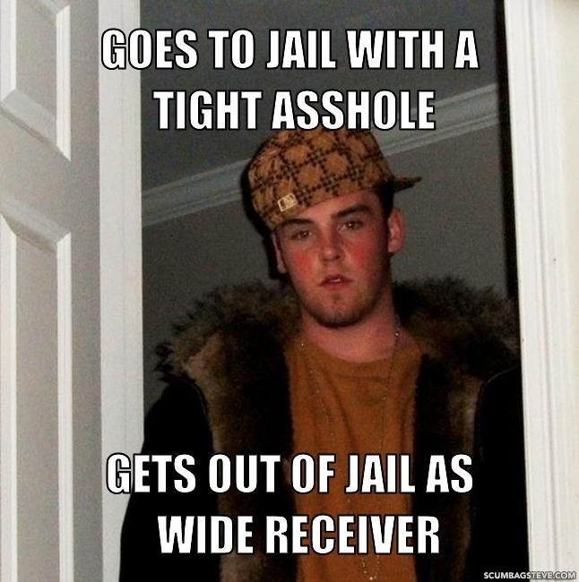 Goes To Jail With A Tight Asshole Gets Out Of Jail As Wide Receiver 42a4d6