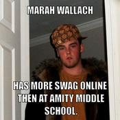 Marah wallach has more swag online then at amity middle school 31bc5a
