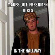Makes out freshmen girls in the hallway c07cbe
