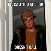 I ll call you at 5 30 doesn t call 24a7f8