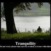 Tranquility do not worry about what can t be avoided or issues with others 40046a