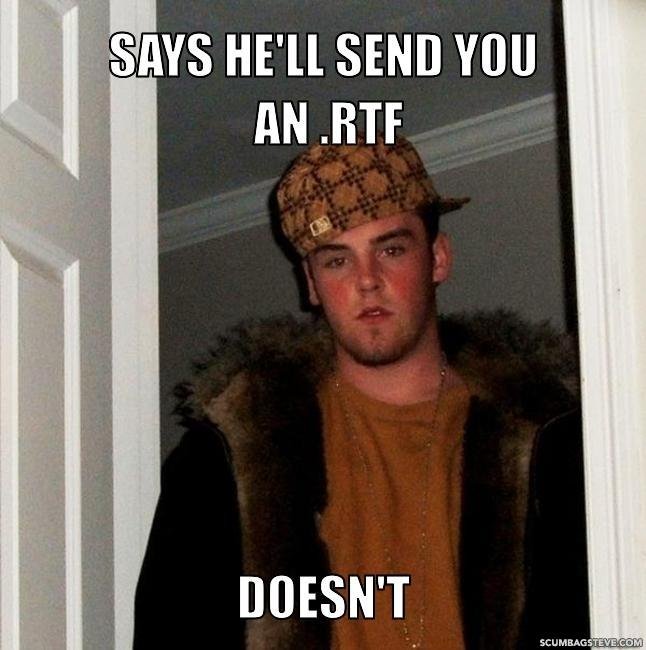 Says he ll send you an rtf doesn t 96d597
